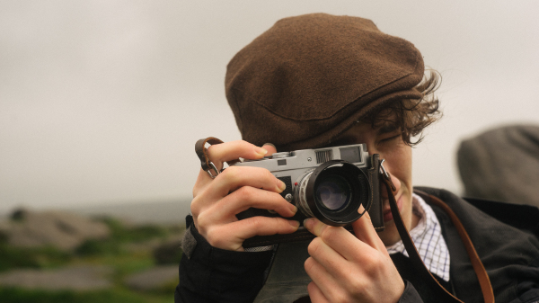 Boy with the Leica